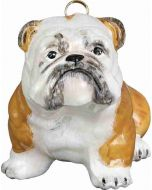 Bulldog White with Tan Markings