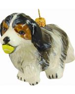Cavalier King Charles Tri Color with Tennis Ball - Now on Clearance!