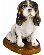 Cavalier King Tri Color Paper Mache - Now on Clearance!