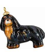 Cavalier King - Black & Tan Pendant Ornament - Now on Clearance!