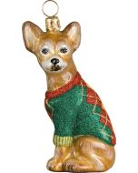 DIVA Chihuahua With Argyle Sweater