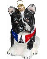 French Bulldog with Parisian Bandana
