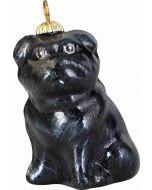 Black Pug Pendant - Now on Clearance!
