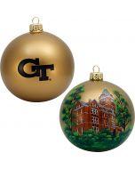Georgia Tech Campus Round Ball