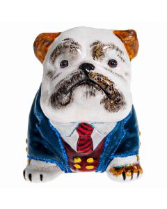 Bulldog Brown & White in Business Best - NEW!