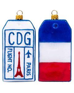 Luggage Tag Paris Version - NEW!