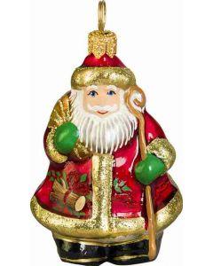 Mini Yule Log Santa