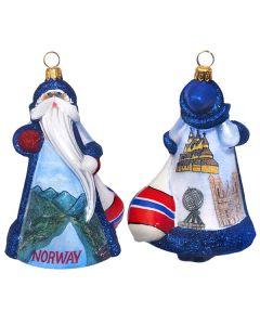 Glitterazzi Norway Santa