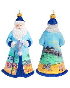 Glitterazzi Naples Santa with Manatee