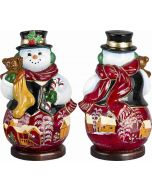 Carpathian Snowman - Red Russian Version - Now on Clearance!