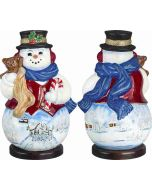 Carpathian Snowman - Russian Troika Version - Now on Clearance!