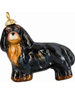 Cavalier King - Black & Tan Pendant Ornament - Now on Clearance!