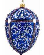 Cobalt Jeweled Egg