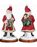 Galician Santa - Red Glittered Version - Now on Clearance!