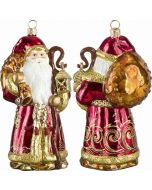 Gdansk Santa - Amber Version with Amber Gemstone