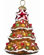 Christmas Tree Pendant - Gingerbread Version - Now on Clearance!