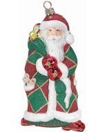 Harlequin Santa Traditional - Now on Clearance!