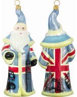 British Santa - Union Jack Flag Santa - Now on Clearance!