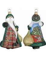 Glitterazzi Scotland Santa