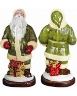 Krakow Santa - Green Holly Berry Version - Now on Clearance!