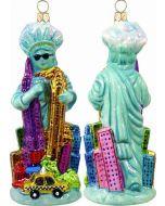 Miss Liberty Takes Manhattan