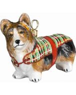 DIVA Pembroke Welsh Corgi In Tartan Coat