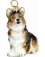 Pembroke Welsh Corgi Sitting Tri Color