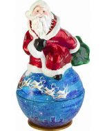 Santa Kugel - Sleigh Version - Now on Clearance!