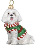 Santa's Little Yelper Maltese