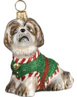 Santa's Little Yelper Shih Tzu