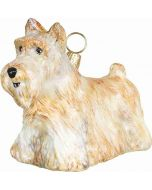 Scottish Terrier Standing Wheaten Version