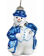 Tatra Mountain Snowman Pendant - Blue and Silver Version - Now on Clearance!