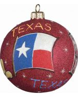 Texas Glitterazzi Ball Red Version