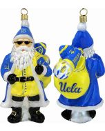 UCLA Collegiate Santa with Sunglasses