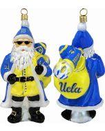 UCLA Collegiate Santa with Sunglasses