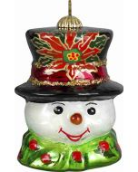 Vintage Snowman Pendant - Traditional Version - Now on Clearance!