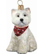 West Highland Terrier Puppy with Bandana