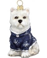 DIVA Westie with Snowflake Coat