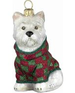 DIVA Westie with Checked Coat