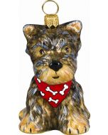 Yorkshire Terrier Puppy with Bandana
