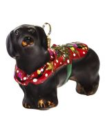 Dachshund Black in Ugly Christmas Sweater