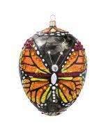 Glitterazzi Monarch Butterfly Jeweled Egg
