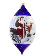 """Classic Old Country Santa 7"""" Drop"""