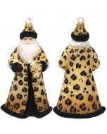 Glitterazzi Leopard Santa