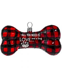 All You Need is Love... And a Dog - Bone - NEW!