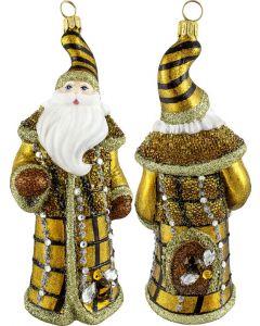 Glitterazzi Beehive Jeweled Santa