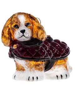 Cavalier King Blenheim in Quilted Coat - NEW!