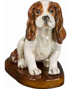 Cavalier King Blenheim Paper Mache - Now on Clearance!