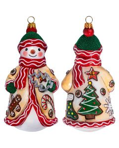 Glitterazzi Christmas Cookie Baker Snowman - NEW!