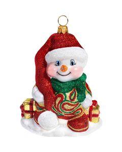 Glitterazzi Christmas Paisley Snowman - NEW!